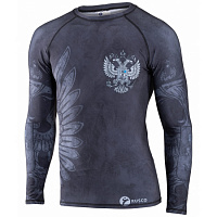 Рашгард для MMA Rusco Sport BLACK HERB взрослый